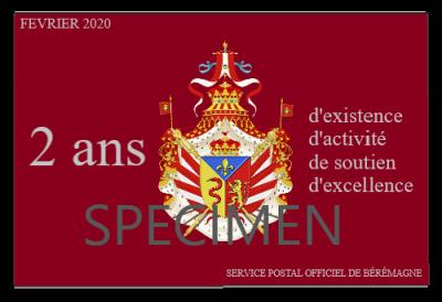Fevrier 2020 specimen