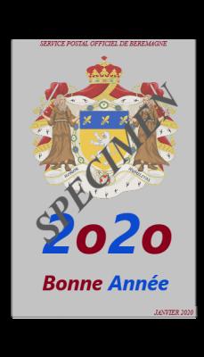 Janvier 2020 specimen