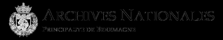 Logo archives nationales transparent